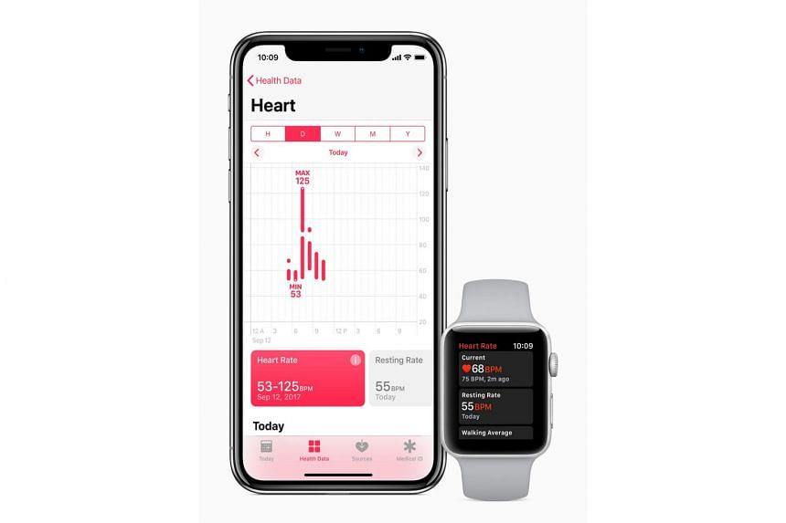 The new watchOS 4 is able to measure resting and walking heart rates.