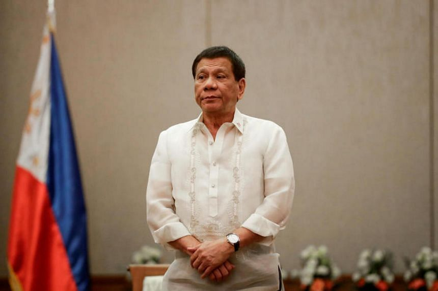 Philippine President Rodrigo Duterte said he ordered the police to kill his son if he was ever caught being involved in the illegal drug trade.