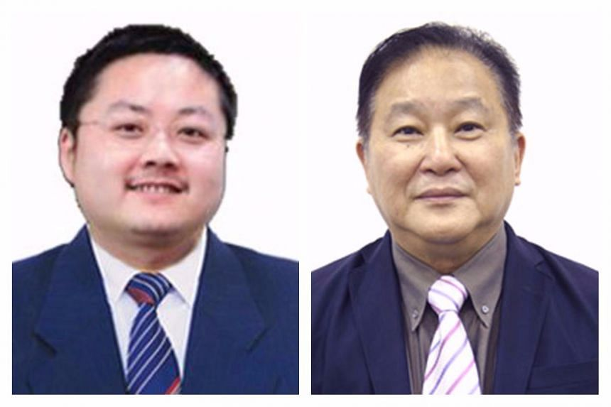 Associates of Mr Liu Ming (left) allegedly attacked Shanghai Turbo independent non-executive director Raymond Lim and five others.