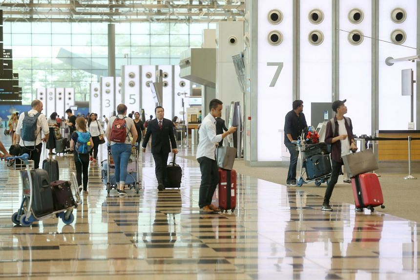 Changi Airport grew faster than both London and Hong Kong, with traffic increasing by 6.1 per cent year on year to 58.2 million passengers.