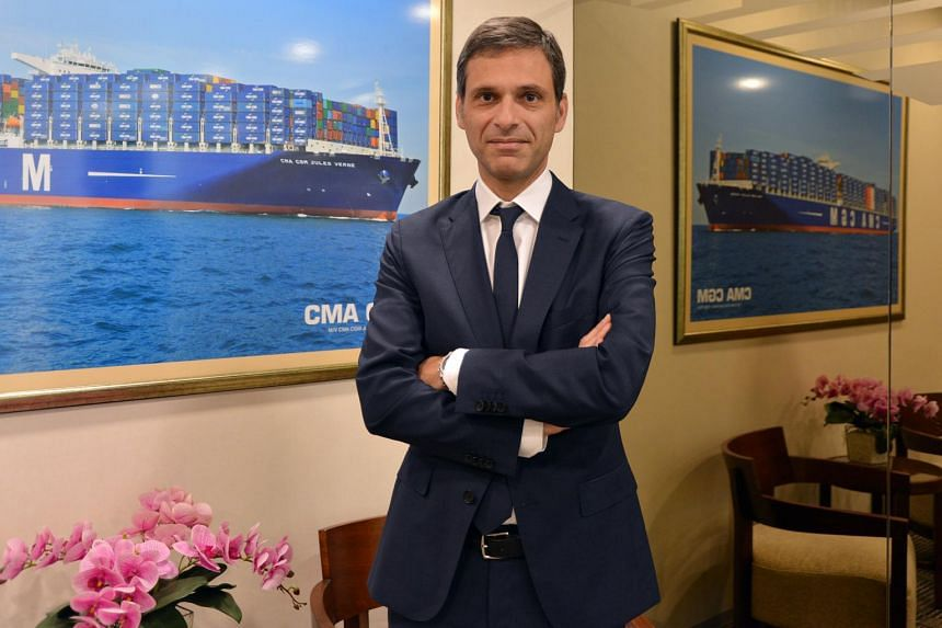"""""""Last year was a bad year, 2017 is a good year and 2018 should be a pretty steady one,"""" said CMA CGM chief executive Rodolphe Saade."""