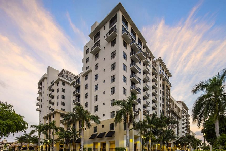 The Mark, an apartment community at Boca Raton in Florida owned by Monogram.