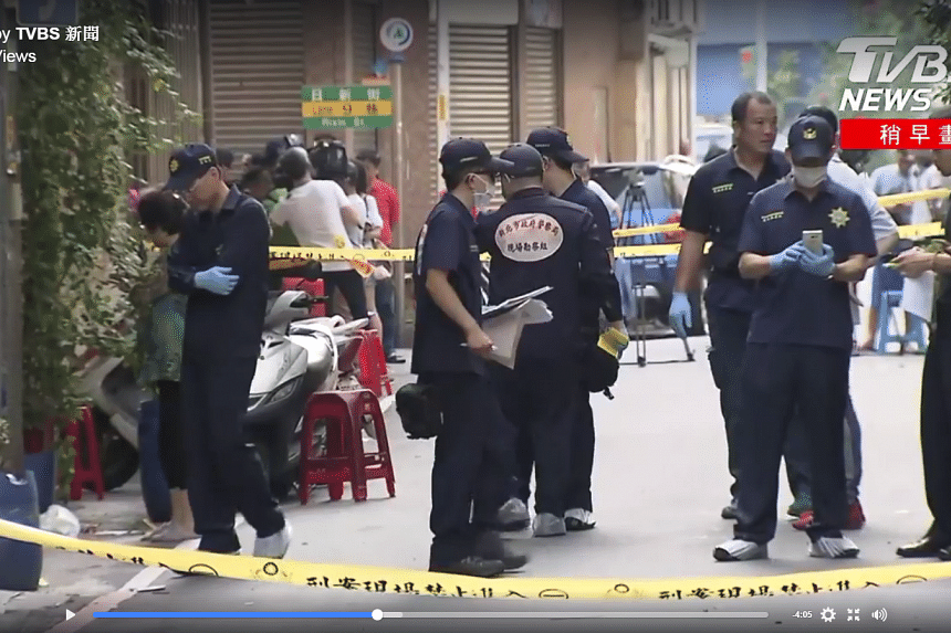 A man opened fire during a charity event held by a temple in New Taipei City on Wednesday (Sept 20), killing one and injuring five others.