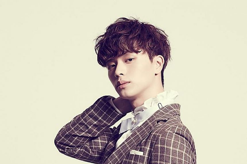 Singer-actor Yook Sung Jae will perform at shopping mall Ion's ION8ight Anniversary Fashion Concert next Friday.