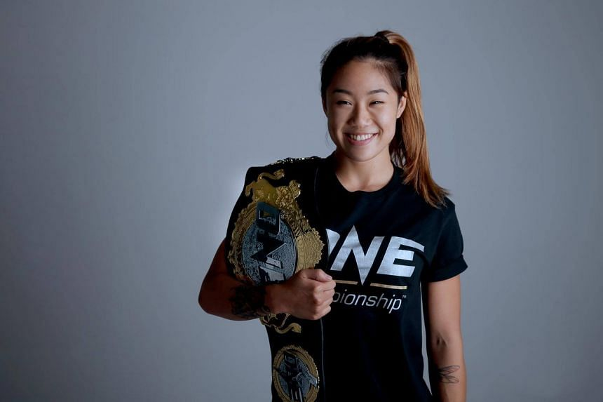 Canadian Angela Lee, who has roots in South Korea and Singapore, is one of the 450 fighters under One Championship.