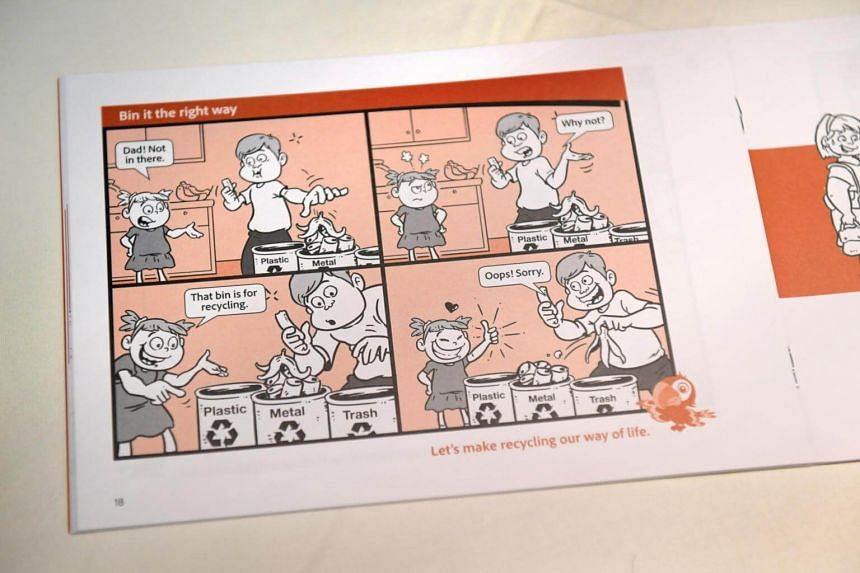 The comic guide illustrates 30 Desirable Social Norms, categorised into eight different themes.