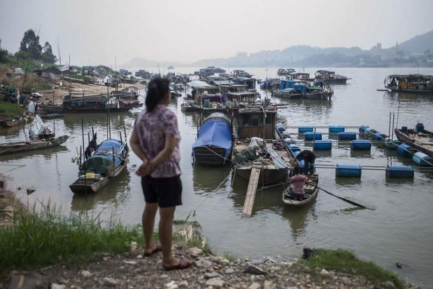 Along southern China's snaking rivers, an ancient fishing community that once lived and worked exclusively on the water has been finding its way to land.