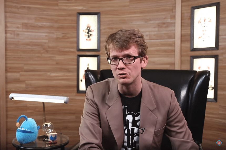 Hank Green is best known as the goofy, enthusiastic host of factoid-heavy educational shows like SciShow and Crash Course.