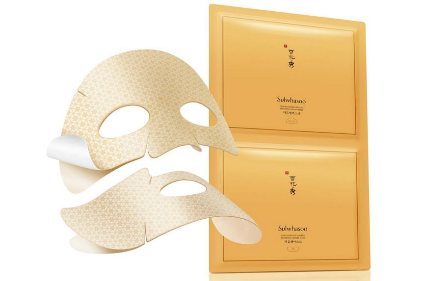 Concentrated Ginseng Renewing Creamy Mask.