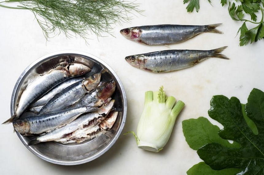 Serve grilled sardines with a shaved fennel salad.