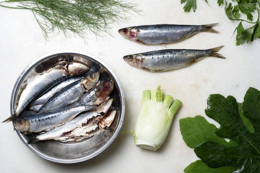 Serve grilled sardines with a shaved fennel salad.