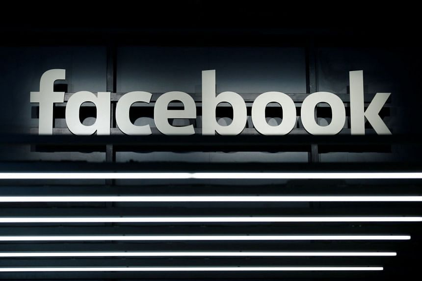 A Facebook logo is pictured at the Frankfurt Motor Show.