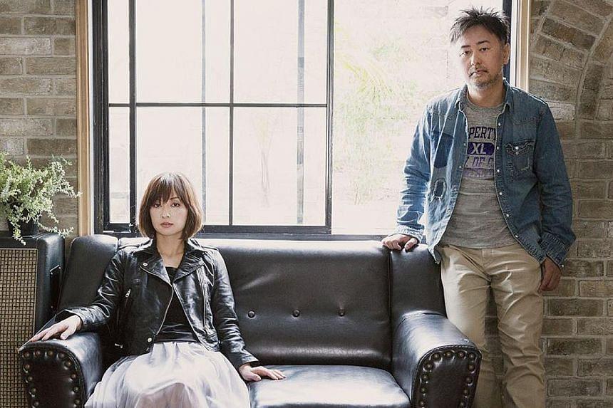 Tomiko Van and guitarist Ryo Owatari