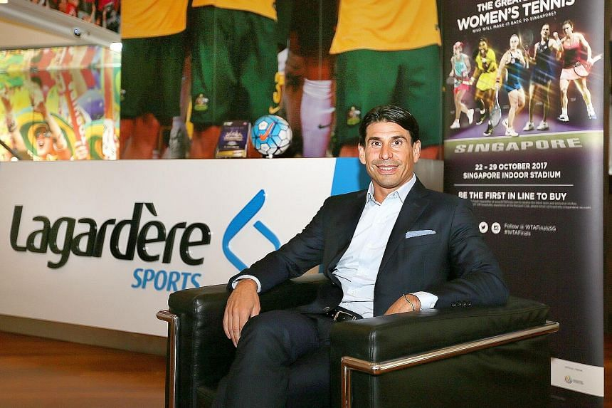 Lagardere Sports executive vice-president of global partnerships Adrian Staiti says sports events create opportunities for brands to communicate with people in the way they want to be communicated to.