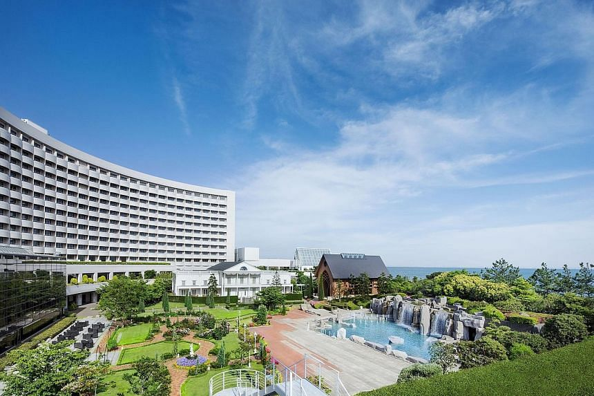 Sheraton Grande Tokyo Bay Hotel, located close to Tokyo Disney Resort, has shown strong and resilient cash flows, said GIC real estate chief investment officer Lee Kok Sun.