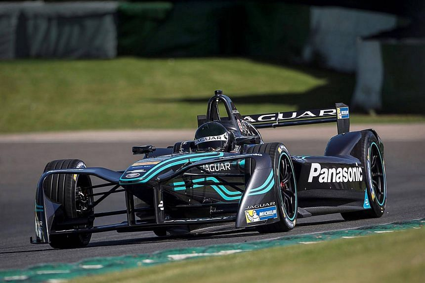 The Panasonic Jaguar Racing I-Type competed in the Formula E Championship Series.