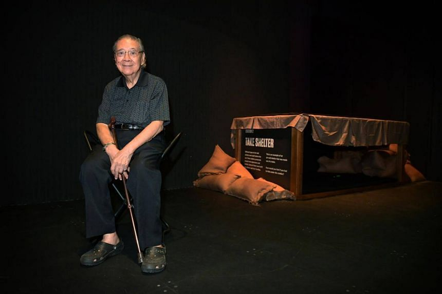 Mr William Gwee's story is one of several stories of survival featured in Witness to War: Remembering 1942.