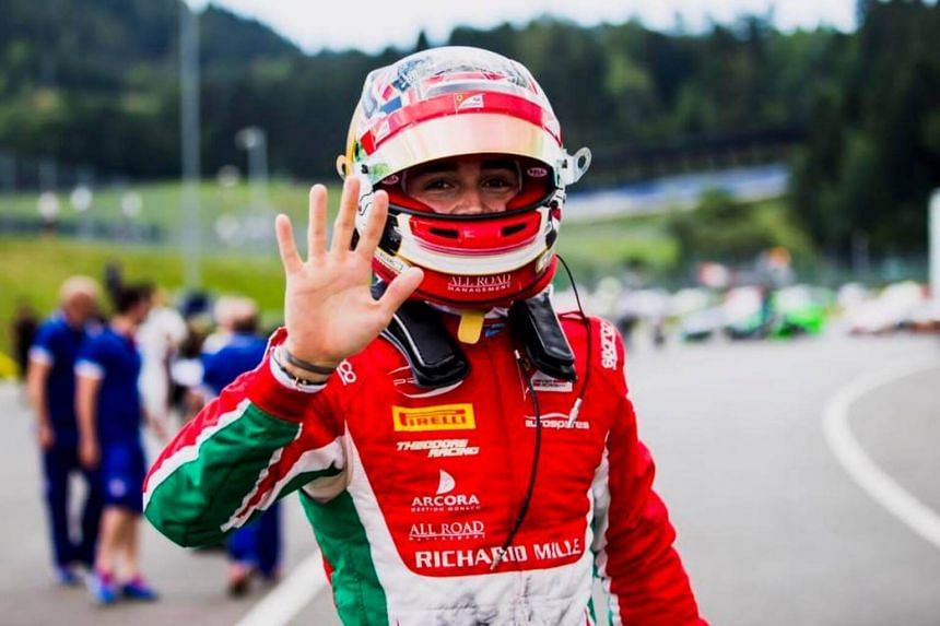 Sauber said in a statement that Charles Leclerc would test in Malaysia next week and then for the US, Mexican and Brazilian Grands Prix.