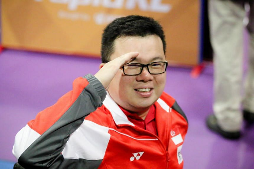 Despite all of the ordeals that he has had to deal with in life, Jason Chee continues to soldier on. He clinched his first individual gold medal at the Asean Para Games on Sept 22, 2017.
