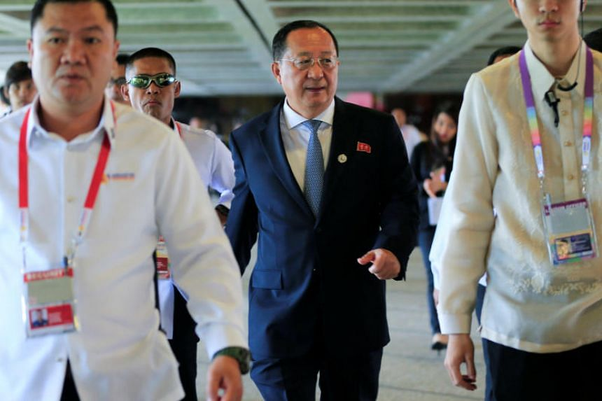 North Korean Foreign Minister Ri Yong Ho says the North could consider a hydrogen bomb test on the Pacific Ocean.