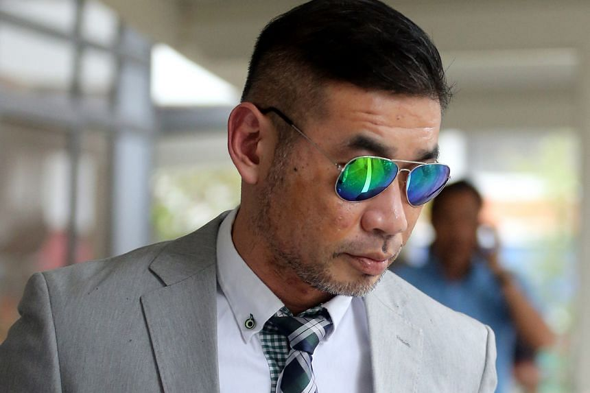 Convicted drug abuser Yeoh Kim Koon said Stuart Koe Chi Yeow (above) sold him a packet containing 0.17g of Ice on Aug 25 last year.
