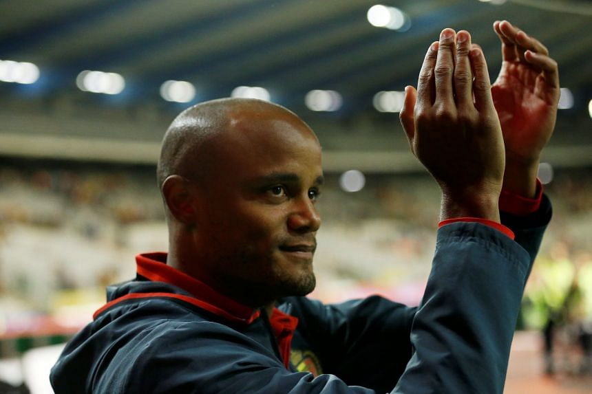 Kompany (above) has missed City's last four games after picking up a calf injury on international duty.