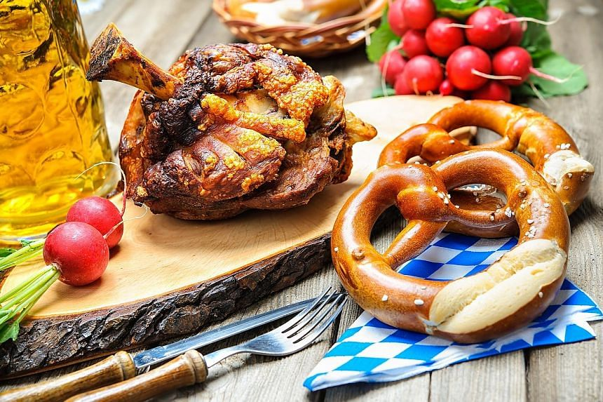 Savourworld is celebrating its first Oktoberfest in style, offering diners classic German beer and hearty Bavarian fare from Oct 13 to 15. Highlights include Crispy Pork Knuckle and Maisel's Weisse Original.