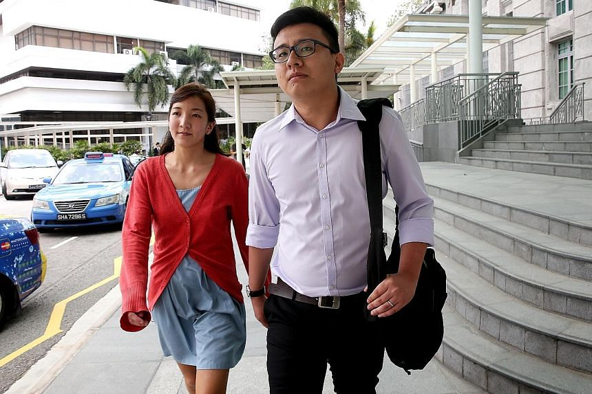 Ai Takagi and her husband Yang Kaiheng were sentenced to jail last year for making seditious remarks on The Real Singapore, the now-defunct sociopolitical website that they co-founded.