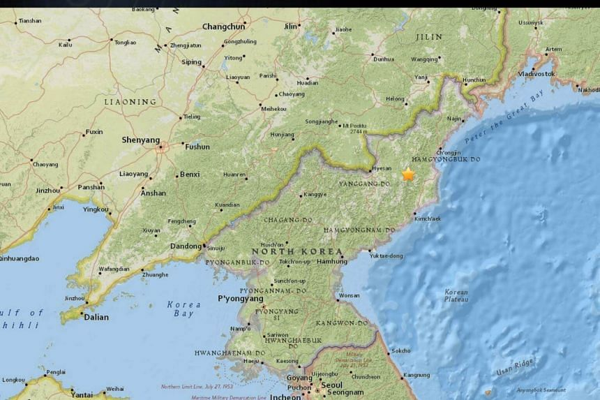 A 3.4-magnitude earthquake jolted north-eastern North Korea.