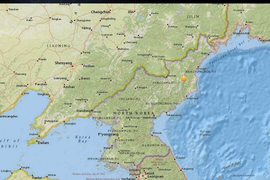 A 3.4-magnitude earthquake jolted north-eastern North Korea.