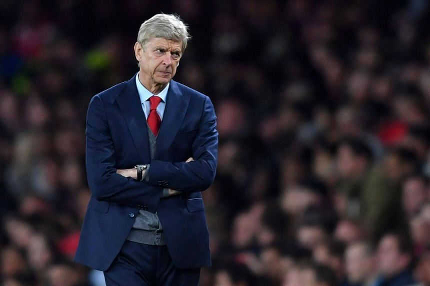 Arsenal's French manager Arsene Wenger gestures on the touchline during the English League Cup third round football match between Arsenal and Doncaster Rovers at The Emirates Stadium in London on Sept 20, 2017.