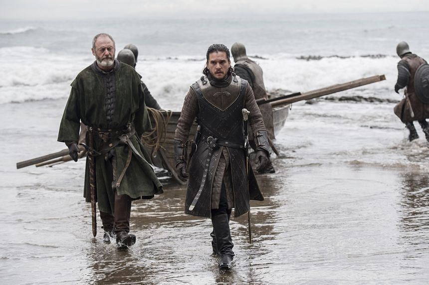Fans of Game Of Thrones, which features stars such as Liam Cunningham (left) and Kit Harington, have even more to look forward to.