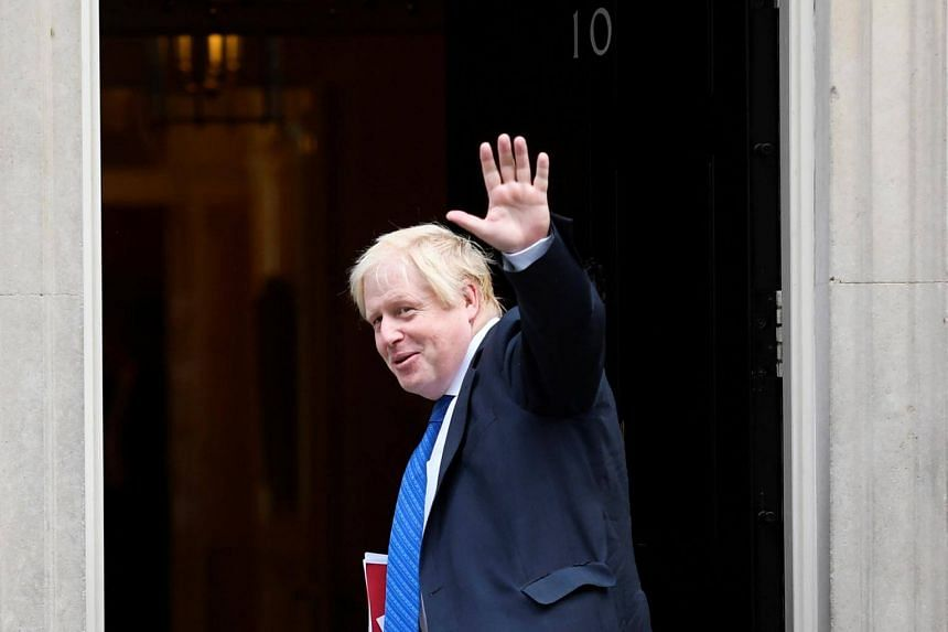 Boris Johnson, Britain's Foreign Secretary, arrives for a cabinet meeting at 10 Downing Street in London, on Sept 21, 2017.