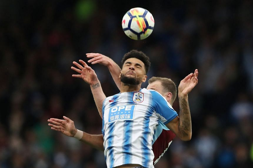 Huddersfield Town's Philip Billing in action.