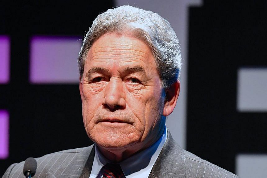 Winston Peters speaks during an event held ahead of the national election at the Te Papa Museum located in Wellington, New Zealand, on Aug 23, 2017.