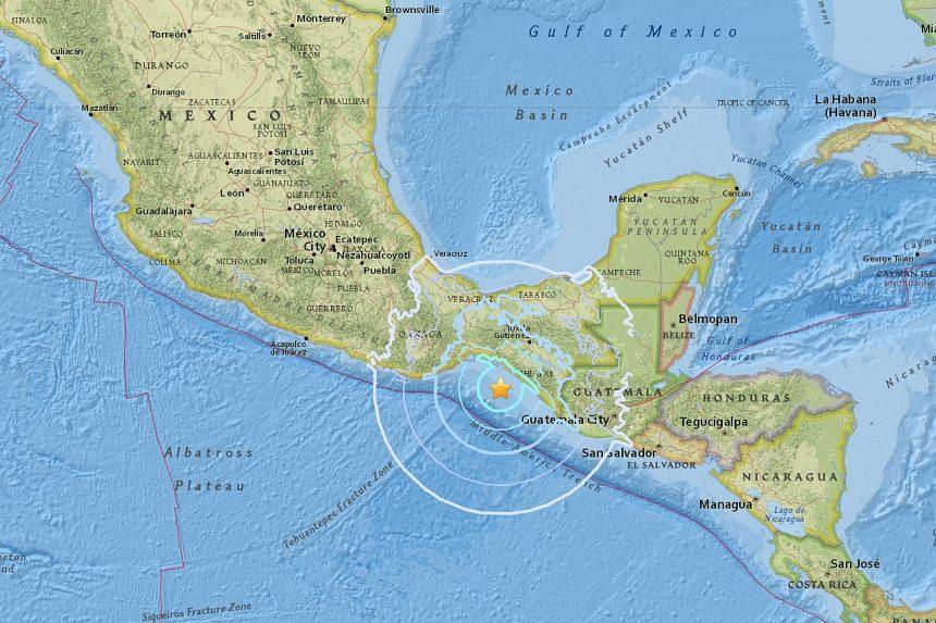 An earthquake measuring magnitude 5.9 struck off the coast of Mexico on Sept 24, 2017.