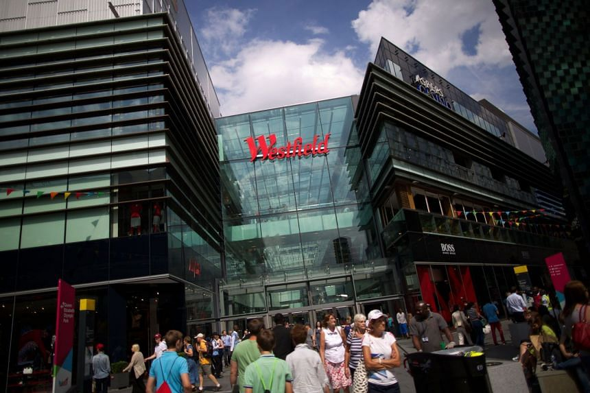 The incident happened near the Westfield shopping centre (above, in a 2013 file photo).