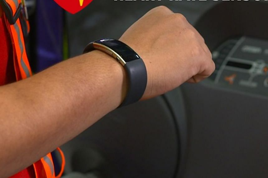Wrist sensors worn by forklift operators at DHL Supply Chain can alert them when colleagues are close by, so they can stop the vehicle. The sensors also monitor their heart rate so supervisors can see if they are too tired and advise them to take a b