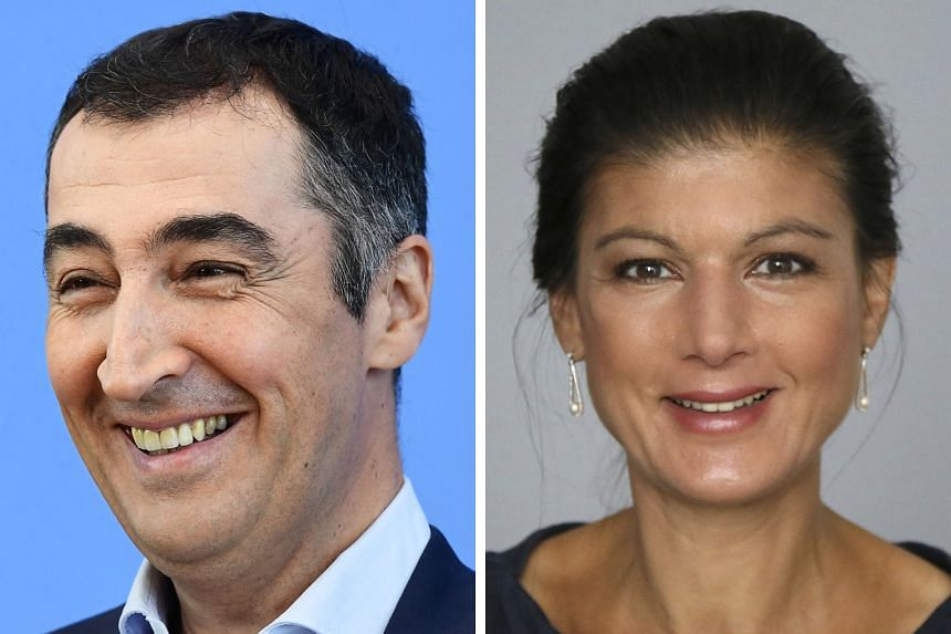 CEM OZDEMIR (LEFT) AND SAHRA WAGENKNECHT (RIGHT)