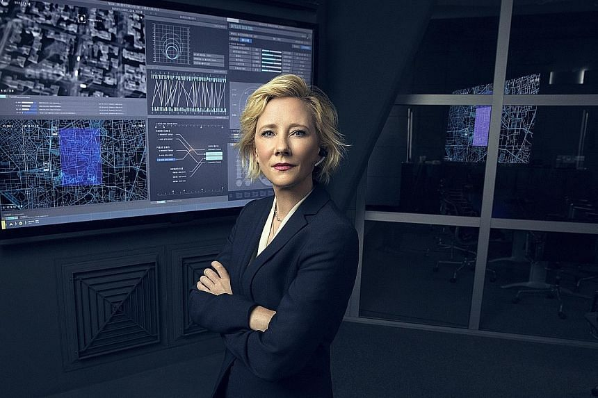 In the military drama The Brave, Anne Heche (above) is Patricia Campbell, who leads analysts to feed information to undercover specialists.