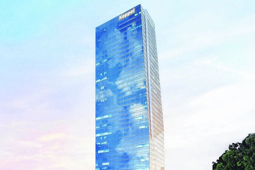 An artist's impression of the International Financial Centre Jakarta Tower 2. Keppel Land is acquiring a prime site adjacent to it.