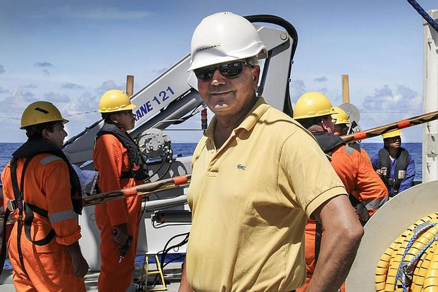 Professor Satish Singh, a visiting professor at the NTU's Earth Observatory of Singapore, is leading an international team that will cover at least 150,000 sq km. The one-month expedition takes place on the 120m-long French research ship, Marion Dufr