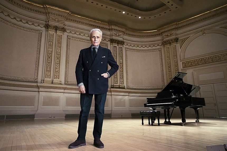 Now at 70, Jose Carreras (above) is on a long world tour that will take him to Carnegie Hall in New York City on Thursday.