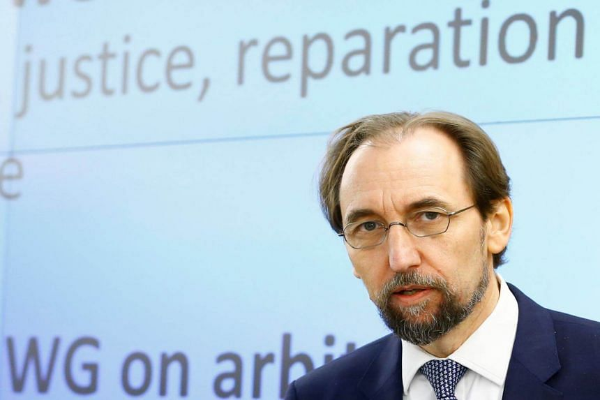 The office of UN High Commissioner for Human Rights Zeid Ra'ad Al Hussein called on Moscow to respect its obligations as an occupying power.
