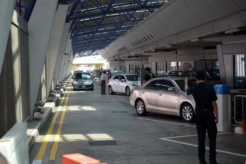 The Immigration and Checkpoints Authority (ICA) Woodlands Checkpoint.