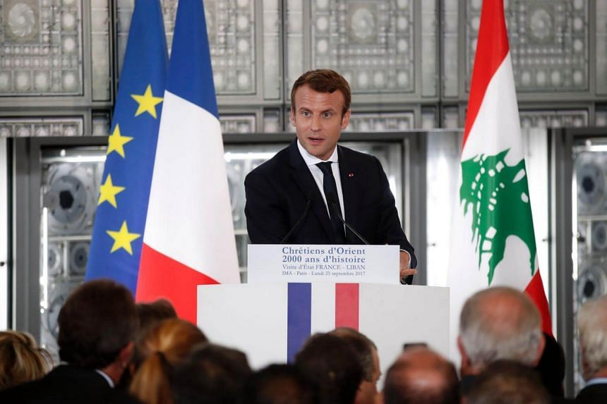 French President Emmanuel Macron will be making a keynote speech on his vision for the European Union.