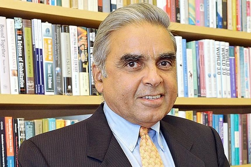 Professor Kishore Mahbubani has parked his money with Aggregate Asset Management for nearly three years.