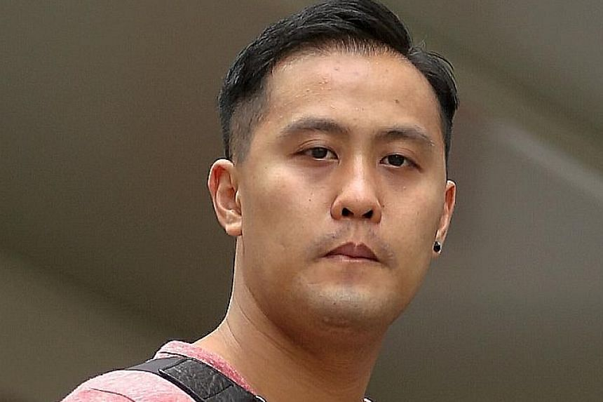 Jason Toh Han Soon was jailed for 18 weeks after admitting to 13 charges of intruding into the privacy of a woman.