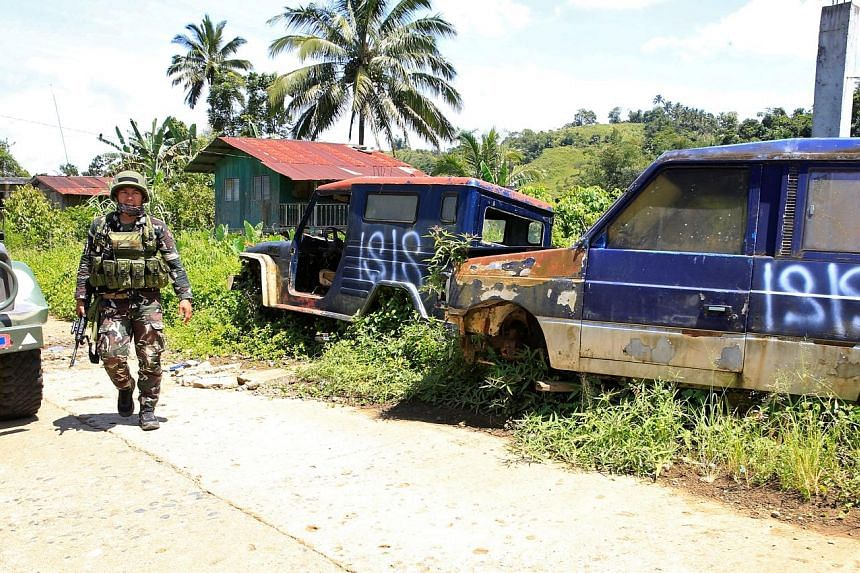 A deserted mountain village on the outskirts of Marawi city, southern Philippines, after the departure of pro-ISIS militants. ISIS ideology has gained ground globally, driving self-radicalisation initiatives and inspiring lone-wolf attacks.