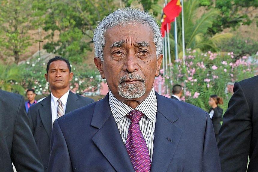 Timor-Leste's new Prime Minister, Dr Mari Alkatiri, has been invited to visit Singapore.